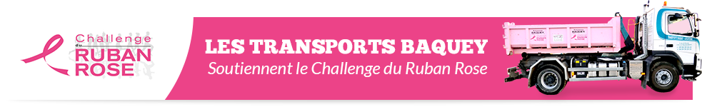 bennes baquey support le challenge ruban rose