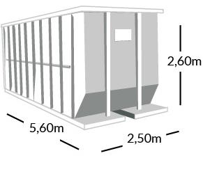 location benne bordeaux transports baquey location de benne pour particuliers. Black Bedroom Furniture Sets. Home Design Ideas